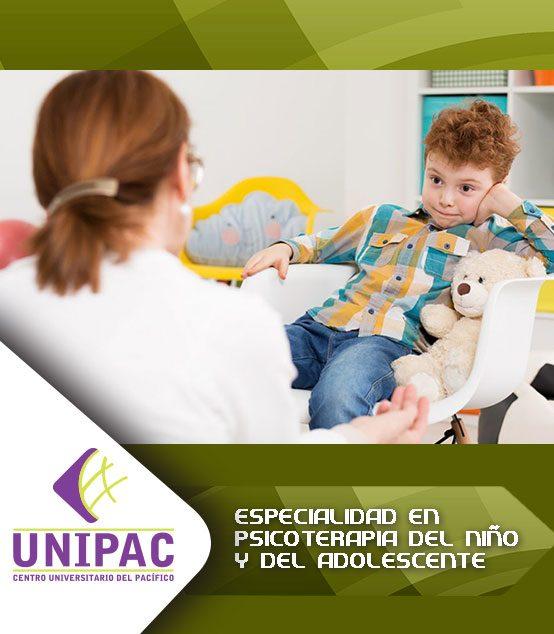 Especialidad en Psicoterapia del niño y del adolescente