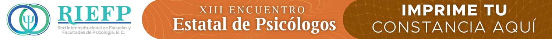 Liga al sitio del encuentro estatal de psicólogos XIII
